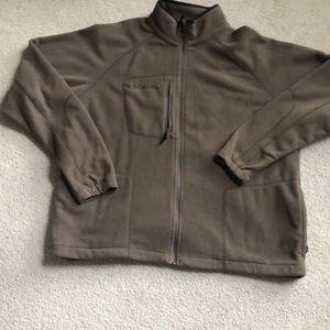 Columbia fill zip jacket